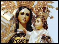Imagen de la Virgen del Carmen.
