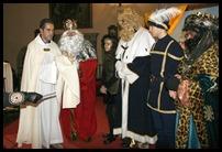 0 Los Reyes Magos de Oriente adoraron al recién nacido