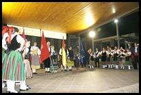 0 Ceremonia de las banderas que daba inicio a la celebración del XXXVII Festival de la Mancha Baja