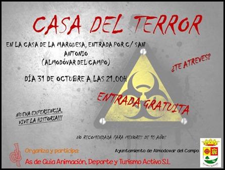 Cartel de la Casa del Terror