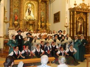Balálita con la Virgen del Carmen