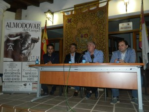 presentacion cartel taurino feria septiembre Almodovar