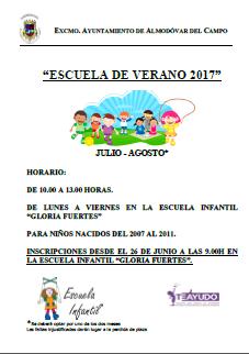 Escuela verano 2017 AC