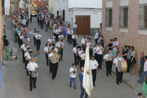 La banda de la Escuela Municipal de Música interpretó diferentes piezas