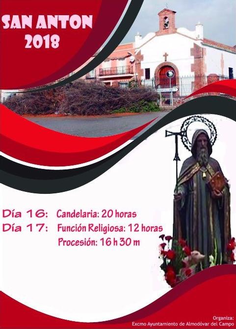 Cartel 2018 San ANTÓN