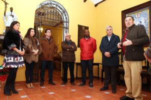 En el recibidor principal de la Casa Natal de san Juan de Ávila