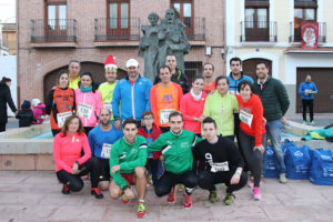 Integrantes del nuevo club local de trail