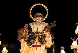 Imagen de san Juan Bautista de la Concepción