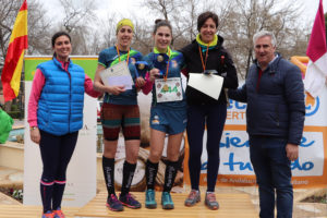 Podio local femenino 15 km