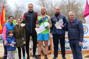 Podio local masculino 25 km