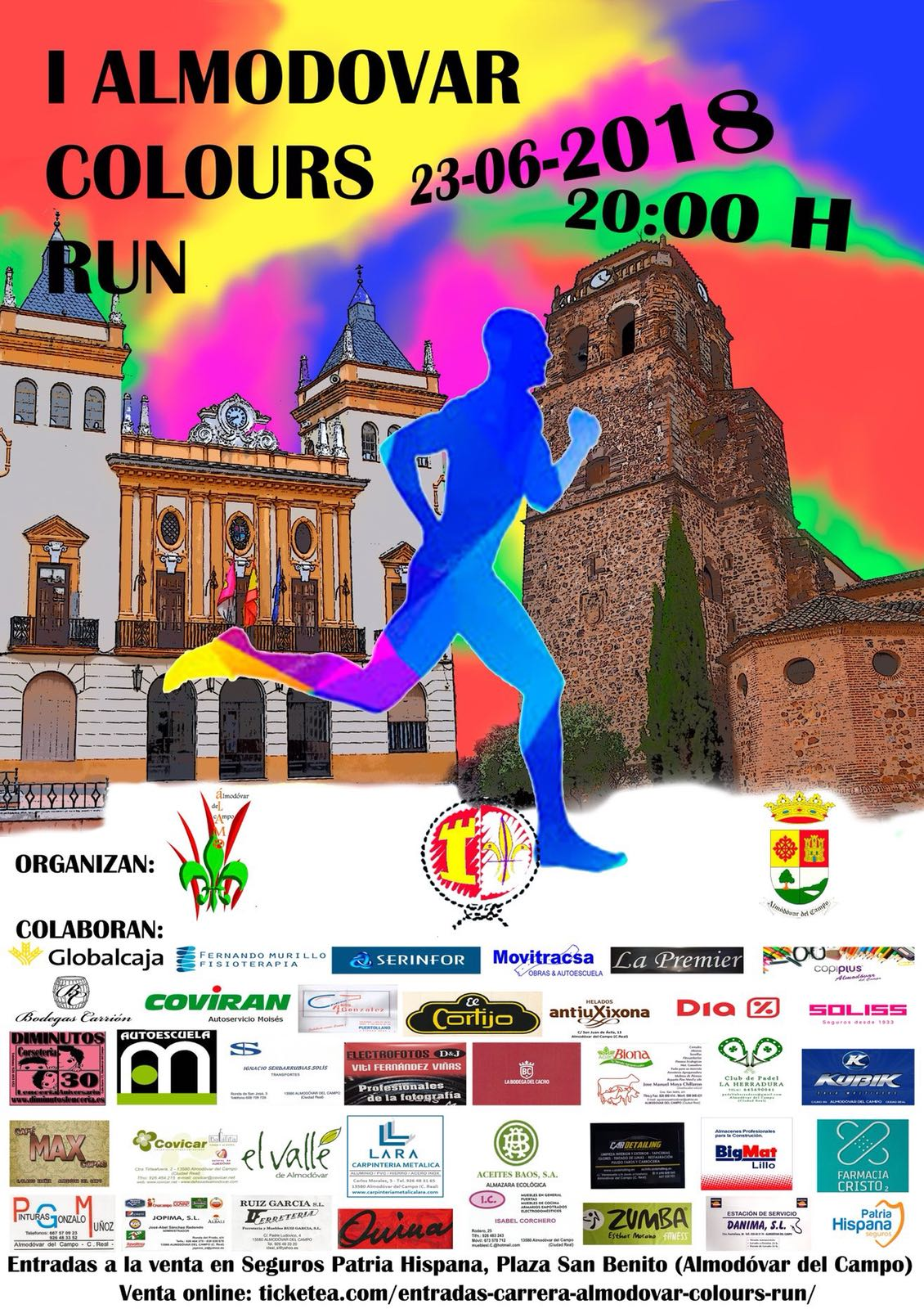 I Almodovar Colour run