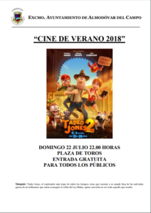 Cine verano Tadeo Jones
