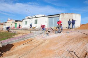 Interesección de las calles Cuenca y Pedro de Deza