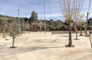 Panorámica de la Plaza Fermina Barona de La Viñuela