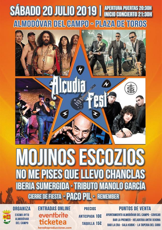 Alcudia FEST 2019 · Sábado 20 de julio