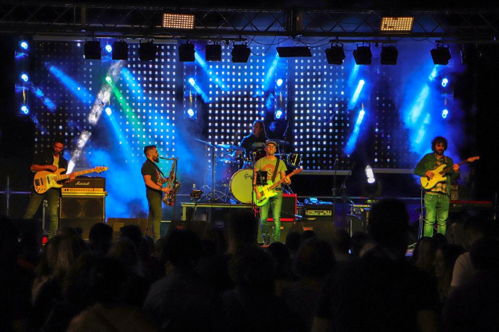Corazón Oxidado, en el concierto tributo a Fiti y Fitipaldis