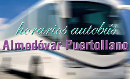 Horario autobuses con Puertollano