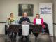 Ramón Aguirre, Eduardo Egido y Javier Flores, ayer jueves en el Centro Cultural almodovareño